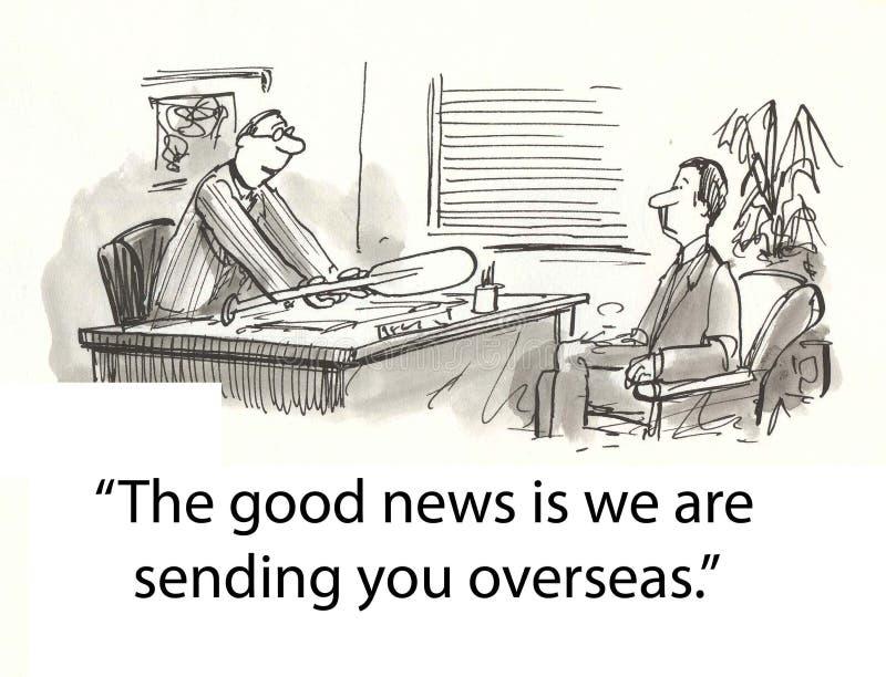 Download Going overseas stock illustration. Illustration of corporation - 23630958