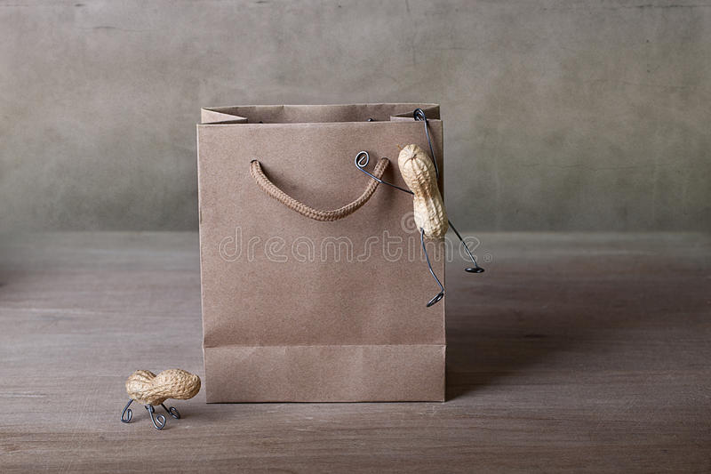 Going Shopping stock photography