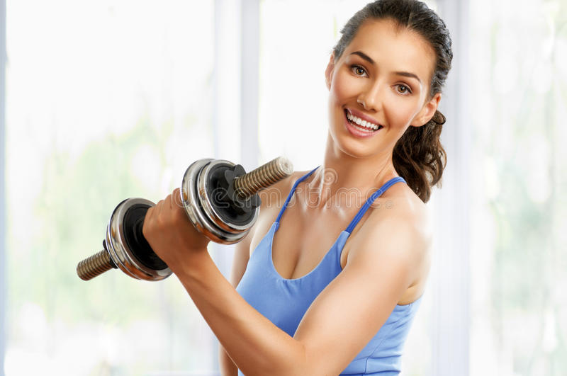 Download Going in for sport stock photo. Image of female, caucasian - 26105208