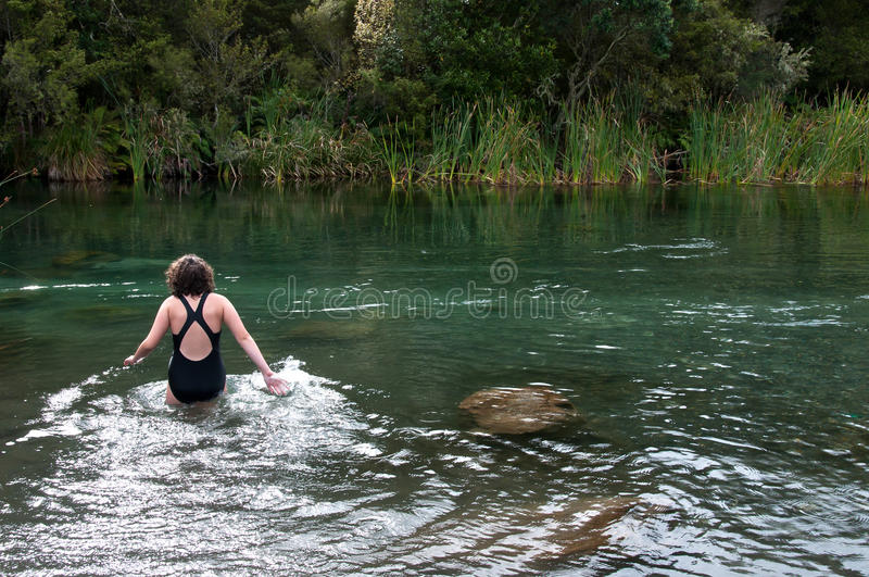 Download Going for a swim stock photo. Image of zealand, suit - 24288242