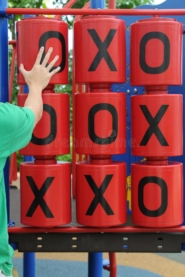Download Going For The Tic Tac Toe Win Stock Photos - Image: 4164043