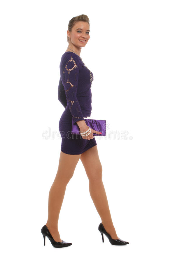 Download Going to a fancy party stock image. Image of legs, hairdo - 21765499