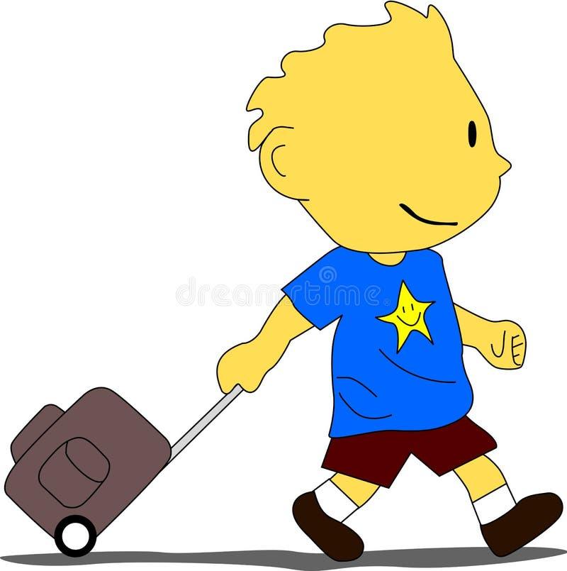 Download Going To School stock vector. Image of preschool, back - 28883139