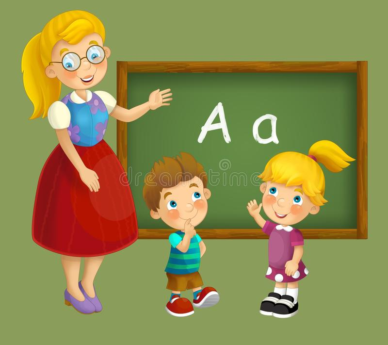 Download Going To School - Illustration For The Children Stock Illustration - Illustration: 30884982