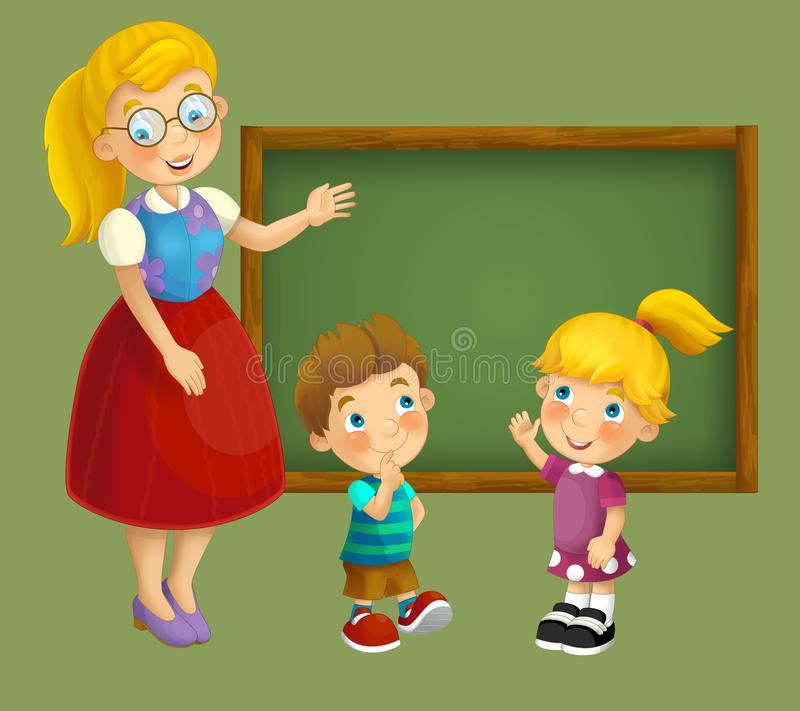 Download Going To School - Illustration For The Children Stock Illustration - Image: 30885004