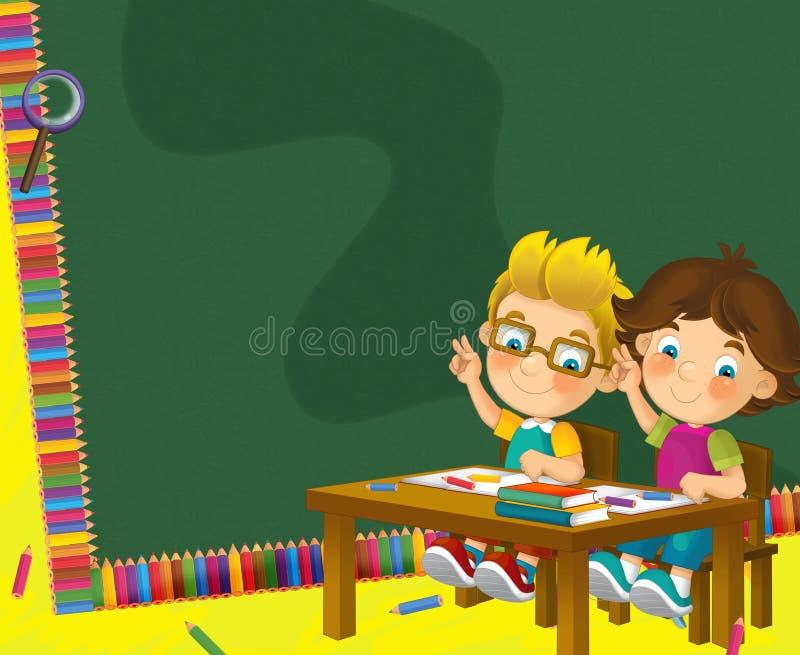 Download Going To School - Illustration For The Children Stock Illustration - Image: 30885380