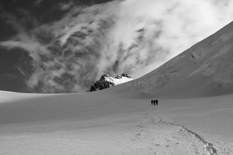 Going To The Summit Stock Photography