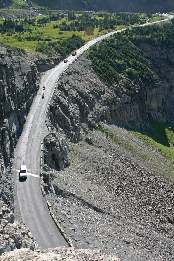 Download Going-to-the-sun Hwy stock image. Image of alpine, mountain - 3674773