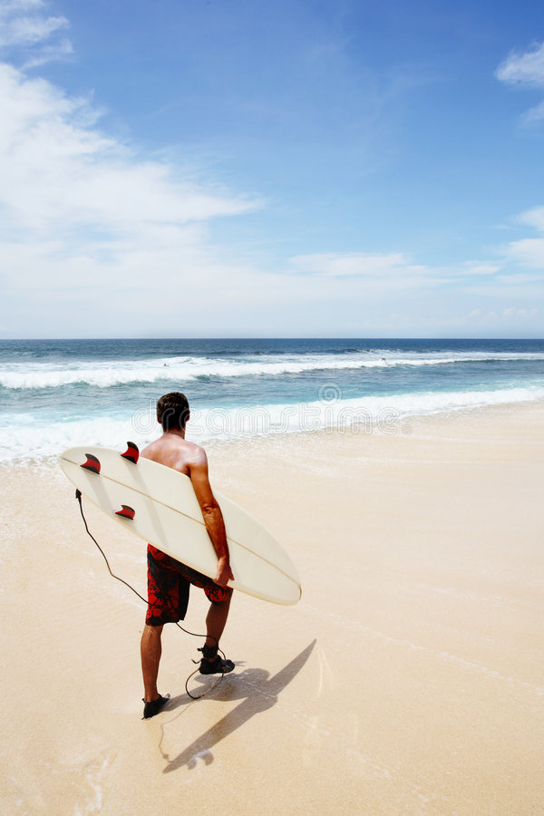 Going to Surf royalty free stock photography