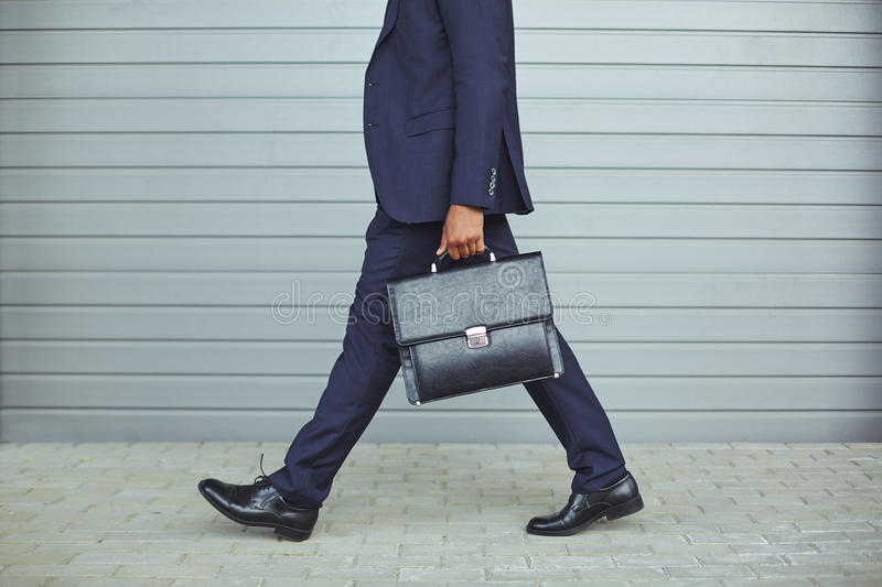 Going to work royalty free stock photo