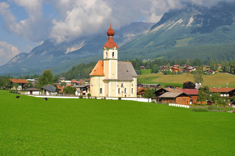 Going,Tyrol,Austria royalty free stock images