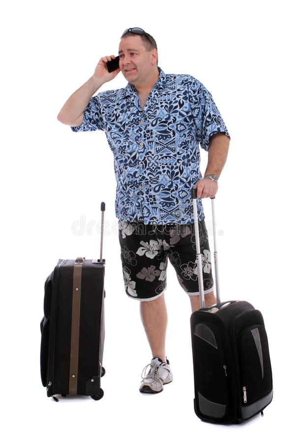 Going On A Vacation Royalty Free Stock Image