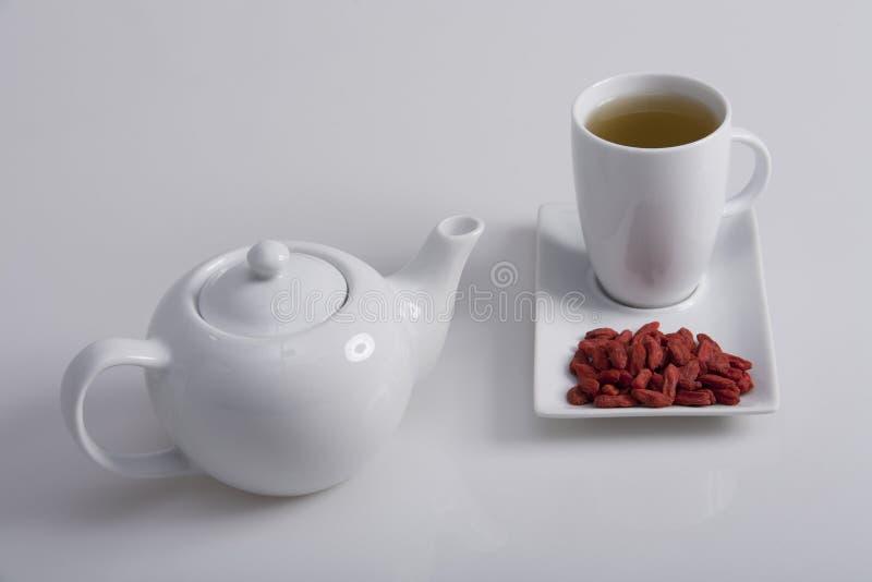 goji茶 免版税库存图片