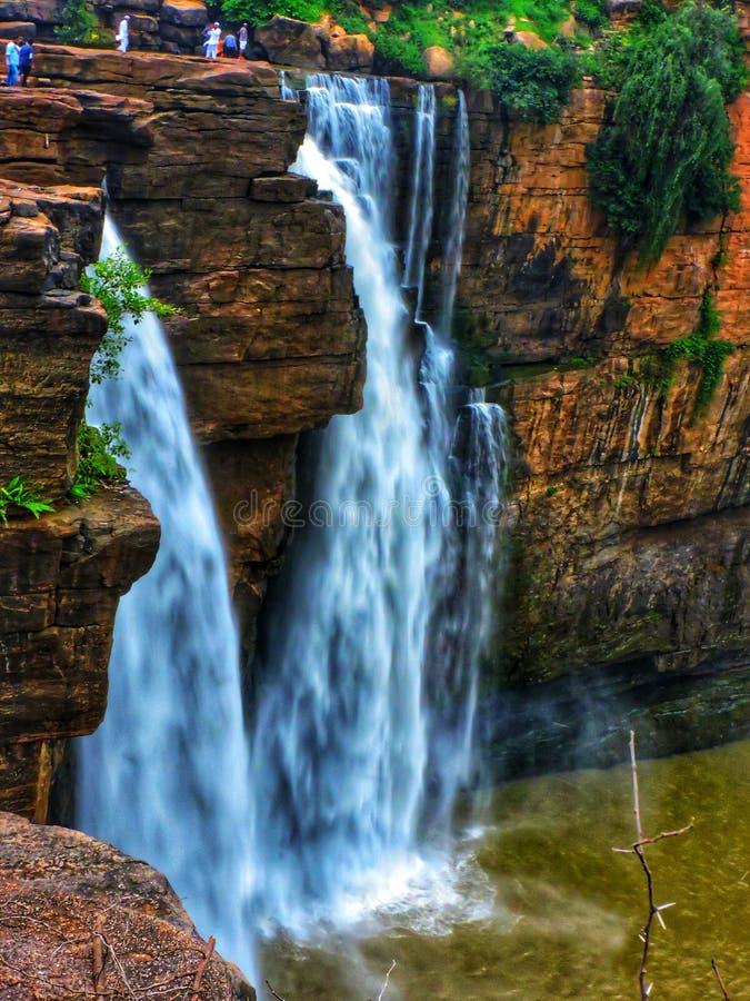 Gokak falls. Situated in gokak belagavi Karnataka India royalty free stock image