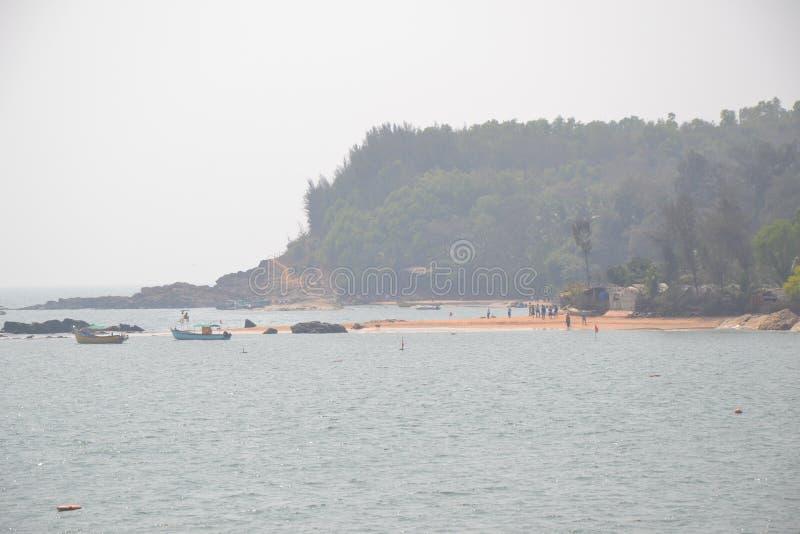 Gokarna strand arkivfoto