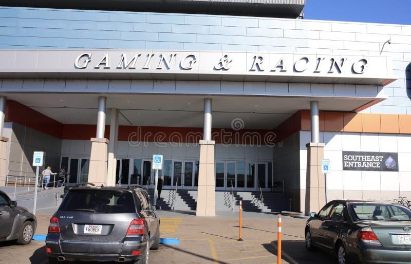 Gokken en Rennend in Southland die en Gokken, het Westen Memphis Arkansas rennen stock foto's