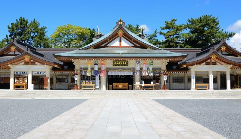 gokoku Hiroshima świątynia obraz stock