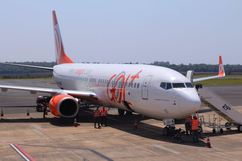 Gol Airline, Brasile immagini stock