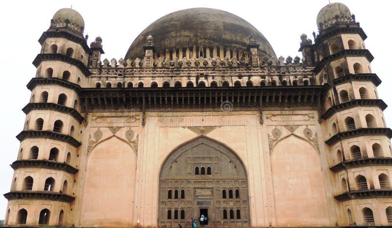 Gol Gumbaz, Bijapur, India fotografia stock libera da diritti
