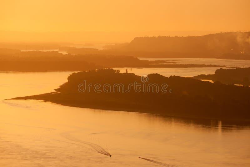 Gola del fiume Columbia immagini stock libere da diritti