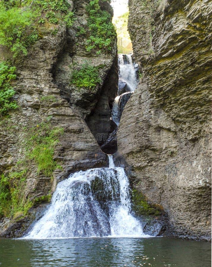 Gola della cascata immagine stock