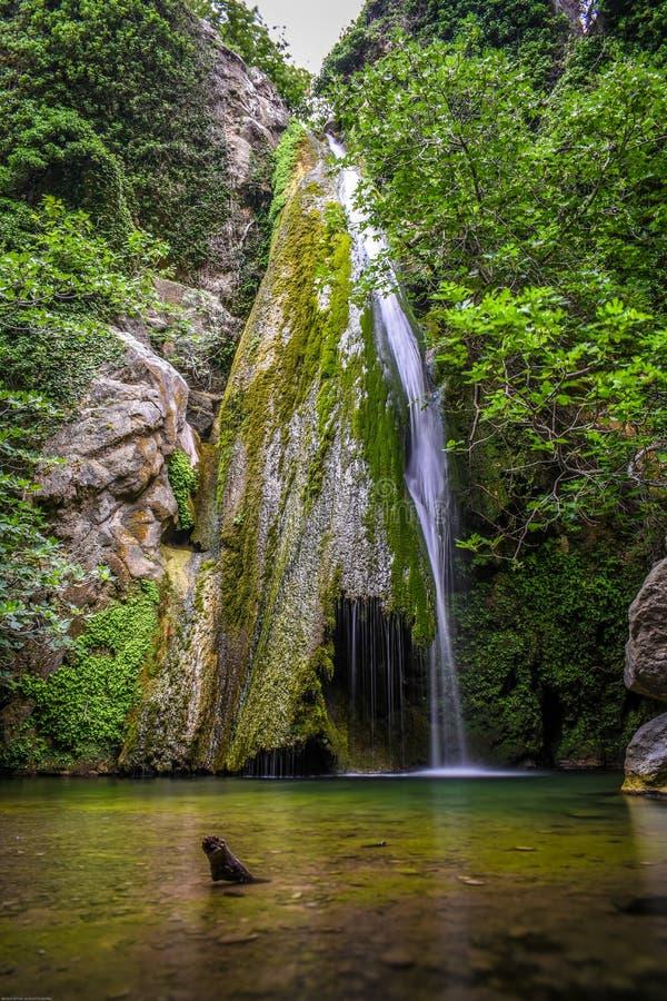 Gola di Richtis vicino a Sitia Creta Grecia fotografia stock