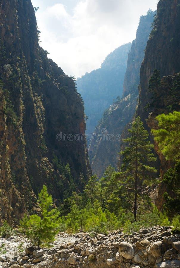 Gola di Samaria. fotografia stock libera da diritti