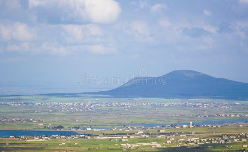 Golan Heights, Isra?l royalty-vrije stock fotografie