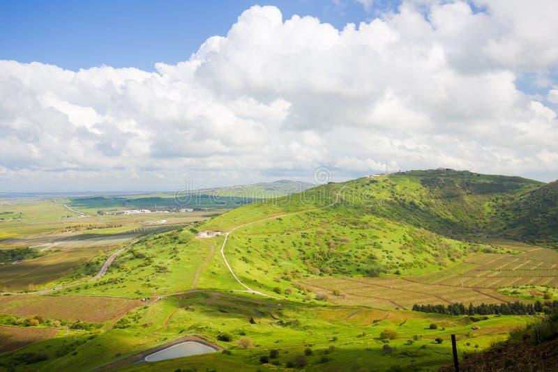 Golan Heights, Isra?l royalty-vrije stock foto's