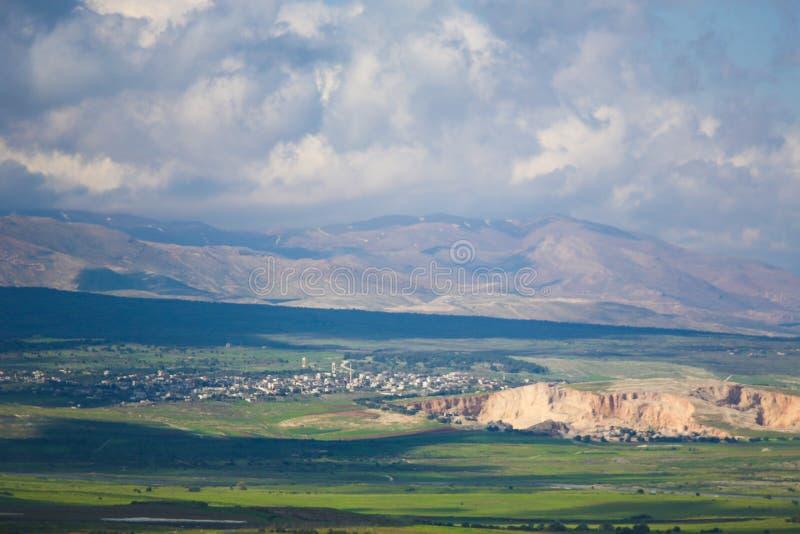 Golan Heights, Isra?l stock afbeeldingen