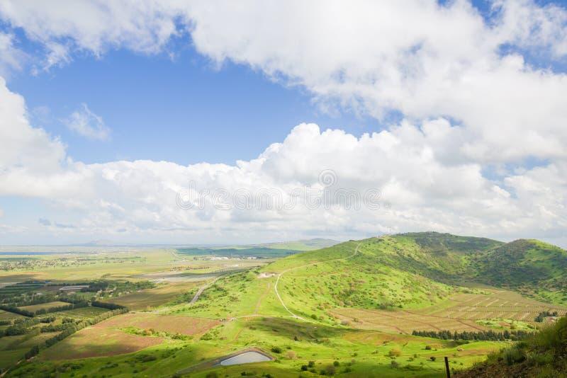 Golan Heights, Isra?l stock foto