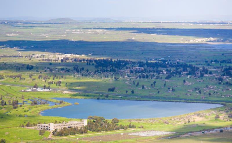 Golan Heights, Isra?l royalty-vrije stock afbeeldingen