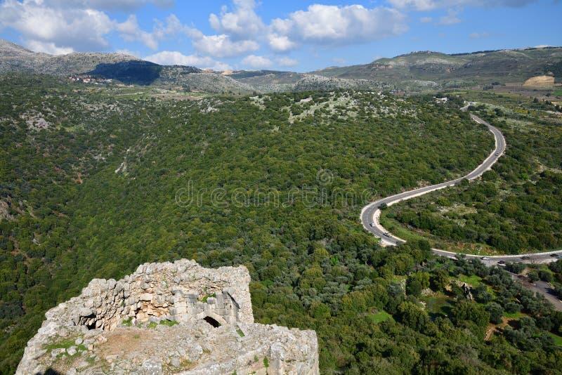 Golan Heights, Isra?l royalty-vrije stock foto