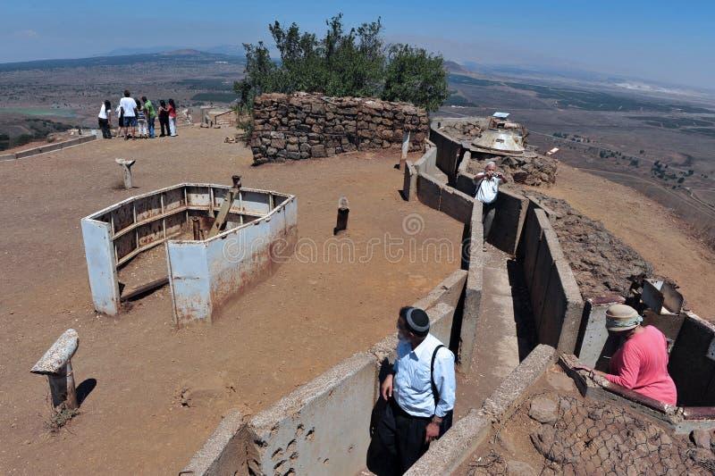 Golan Heights - Israel imágenes de archivo libres de regalías