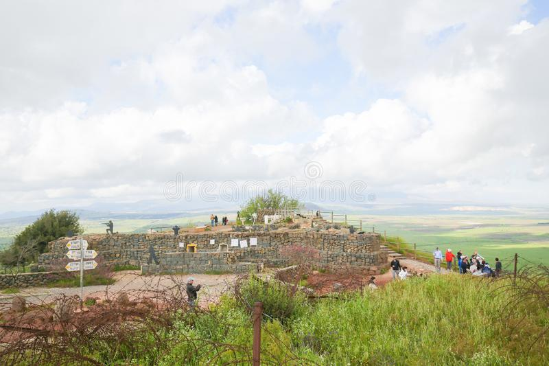 Golan Heights, Israel royalty free stock images