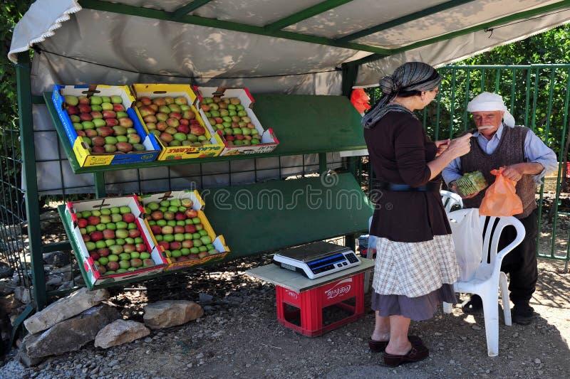 Golan Heights - l'Israël photo libre de droits