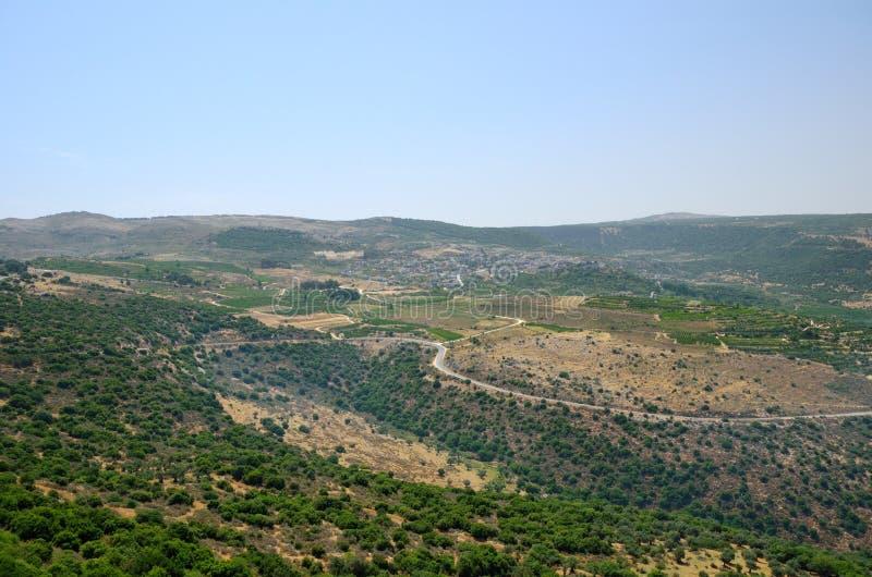 Golan Heights royalty free stock photo