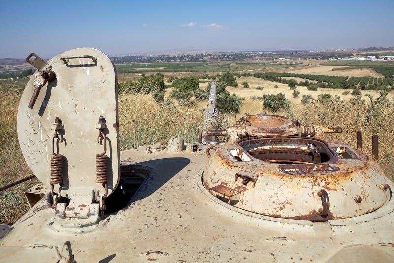 Golan krajobraz zdjęcia royalty free