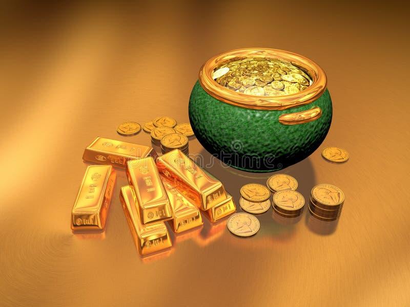Download Gold stock illustration. Image of bars, goldbars, rand - 25728895