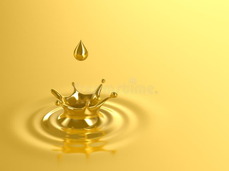 Download Gold stock illustration. Image of droplet, gold, background - 4216830
