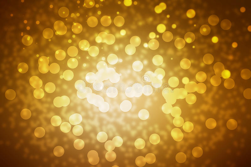 Gold abstract background stock photos