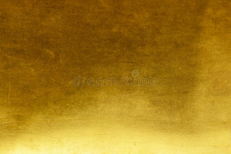 Gold abstract background or texture distress  scratch and gradients shadow. Gold abstract background or texture distress scratch and gradients shadow royalty free stock photo