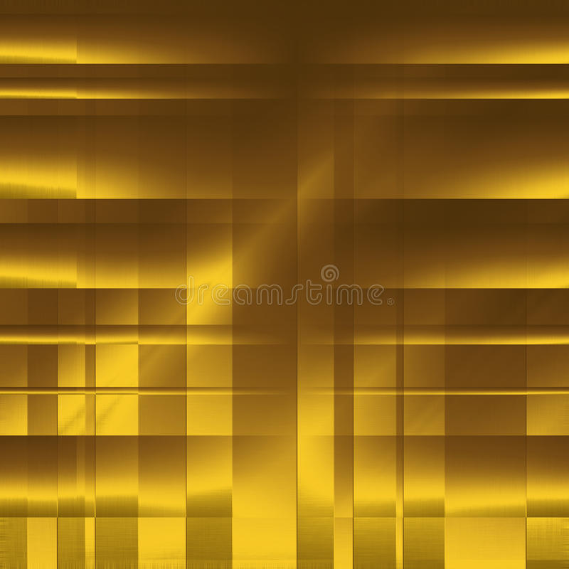 Download Gold Abstract Blocks As Background Stock Illustration - Illustration of curve, color: 23601068