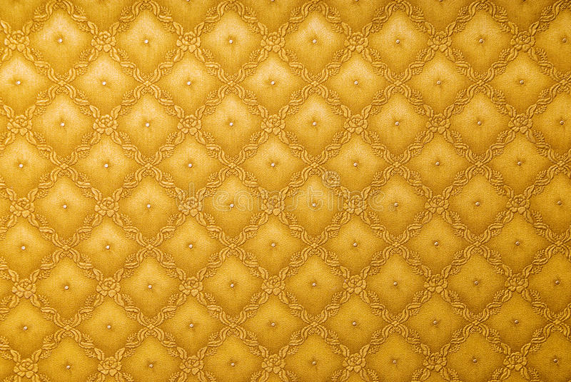 Gold abstract wallpaper. Background with flowers royalty free stock photos