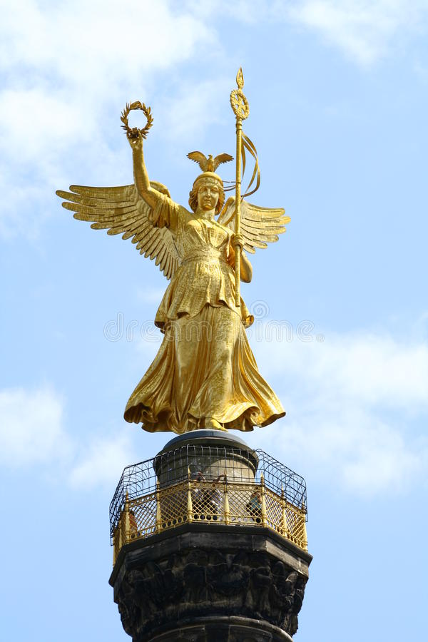Berlin angel royalty free stock images