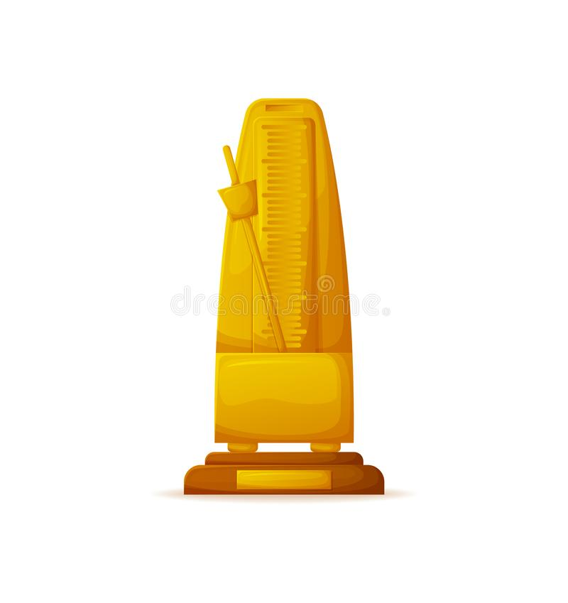Gold Award, Measuring Device, Golden Prize Icon royalty free illustration