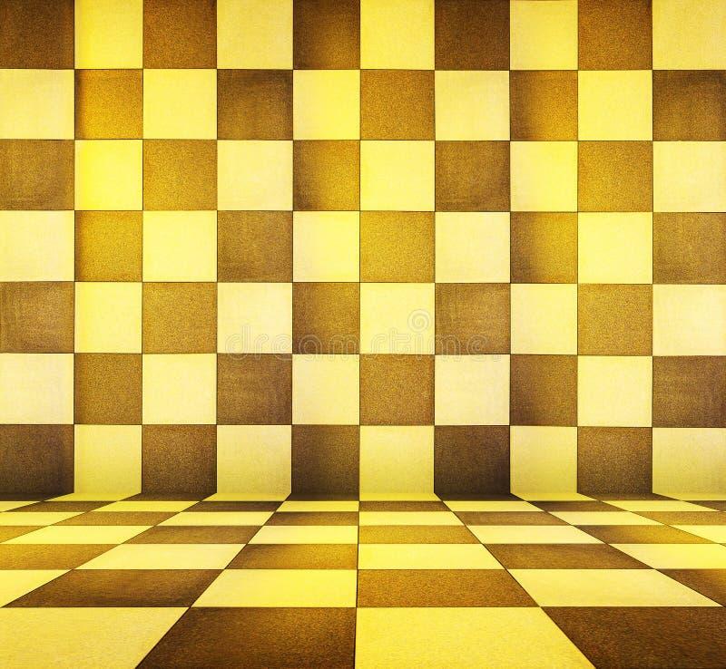 Download Gold background stock illustration. Illustration of cubes - 19678614