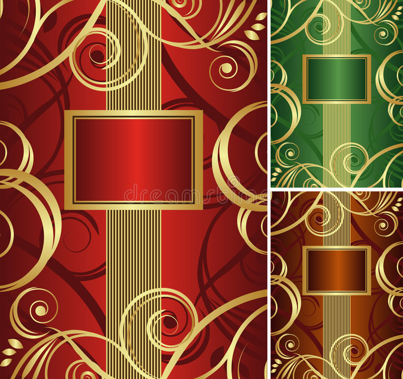 Gold background. This image is a vector illustration and can be scaled to any size without loss of resolution. This image will download as a .eps file. You will royalty free illustration