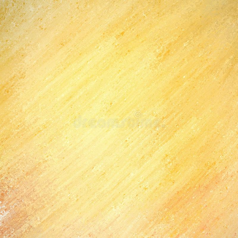 Gold background with diagonal streaks of paint in rough textured pattern royalty free stock photo