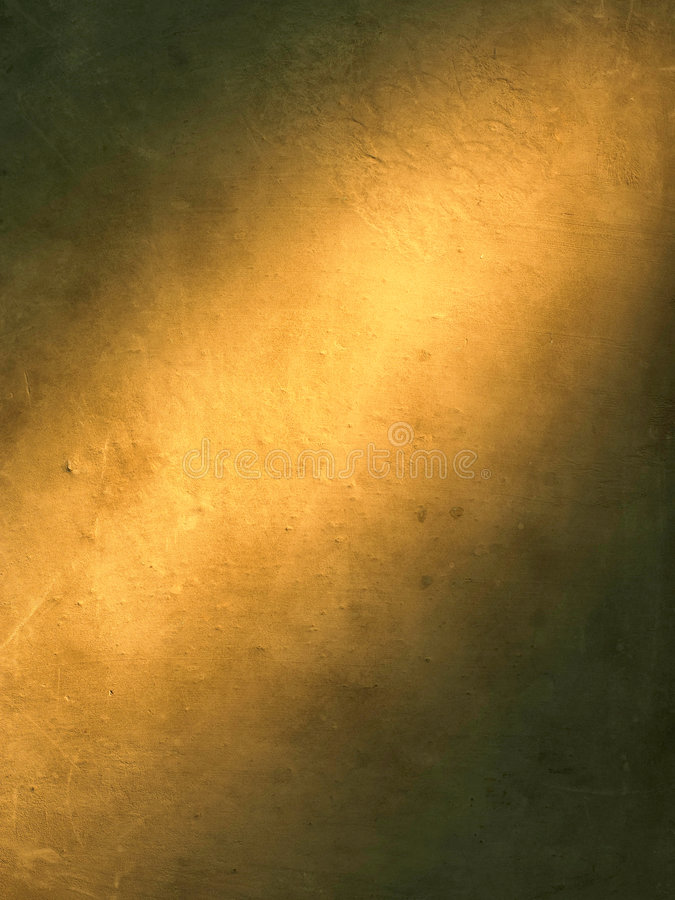 Gold background highlight. Highlight in a gold texture background